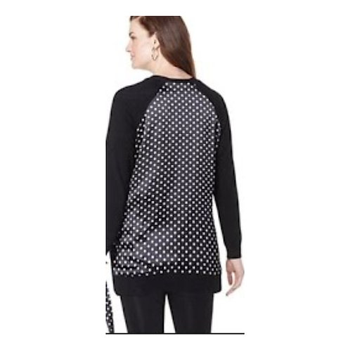 Polka Dot Magic Back Sweater
