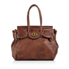 Antique Leather Satchel