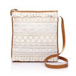 Heritage Lace Crossbody