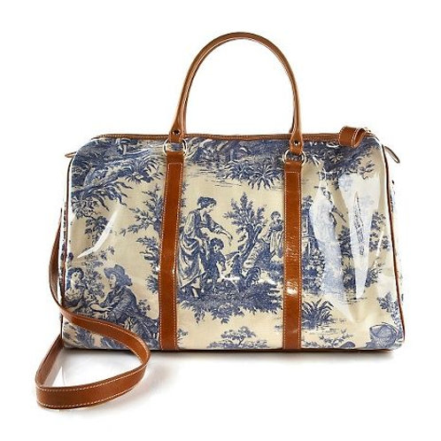 Toile Weekender Bag
