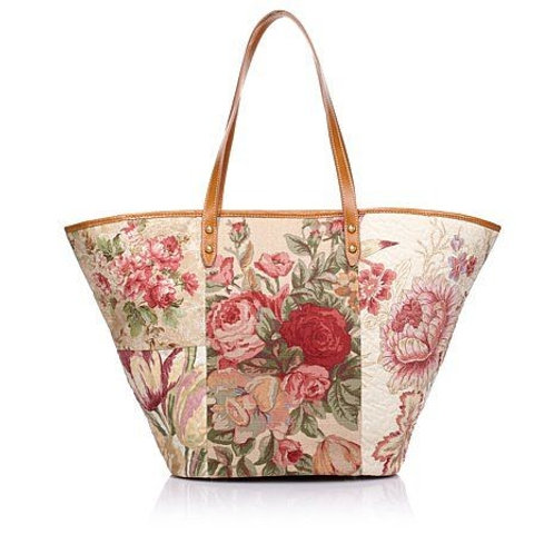 Cotswold Cottage Shopper with Leather