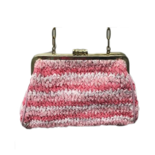 Knitted Kisslock Crossbody
