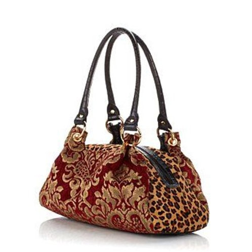Covent Garden Tapestry Satchel