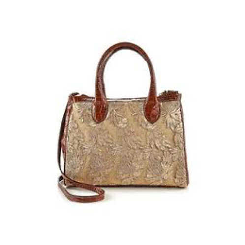 Castle Lace and Leather Satchel