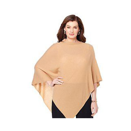 Knitted Poncho Wrap Made in Turkey