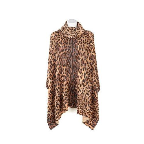 Safari Knit Poncho