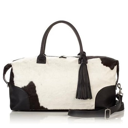 Canyon Haircalf and Leather Weekender