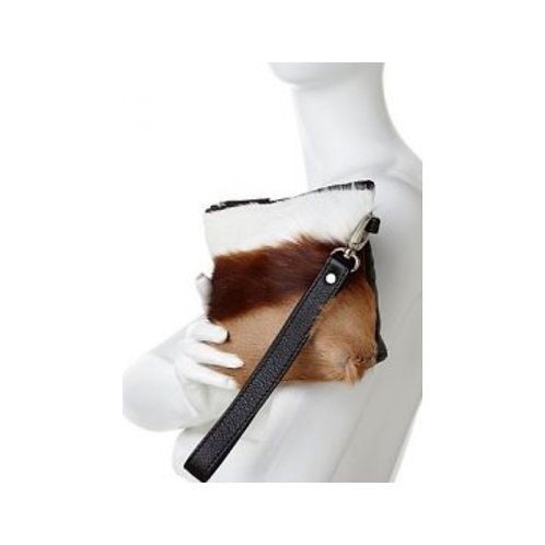 Springbok Leather Clutch