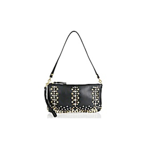 Antique Studded Leather Crossbody