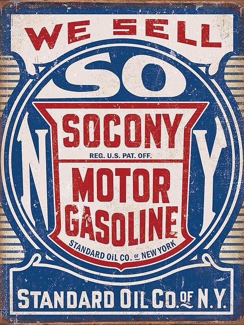 Socony Gasoline