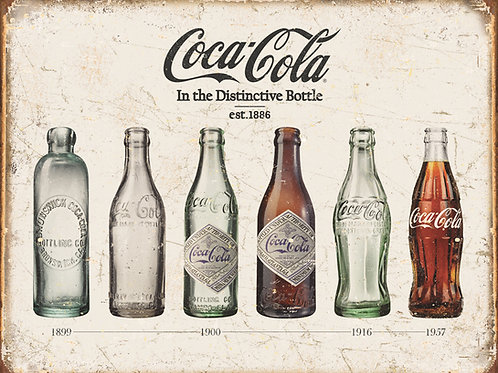 Coca-Cola - Bottle Evolution