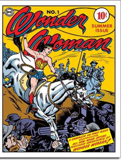 Wonder Woman Cover no 1