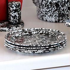 Crow Canyon Home Enamel Plates
