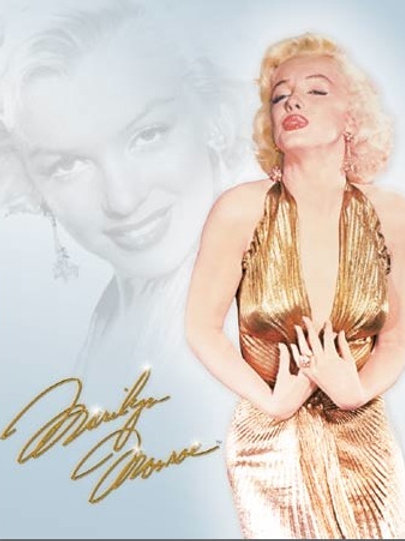 Marilyn Gold Dress