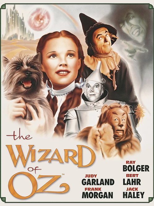 Wizard of Oz - Poster illustrated