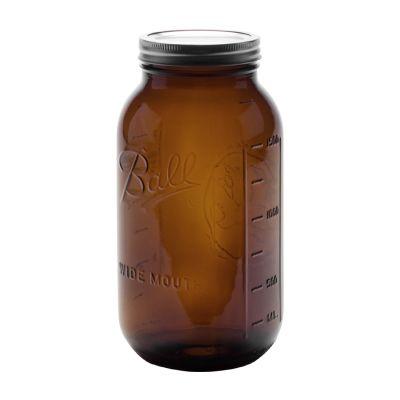 Half Gallon Front Amber
