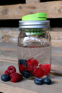 Ball Mason Jar+Jarware Infuser Lid