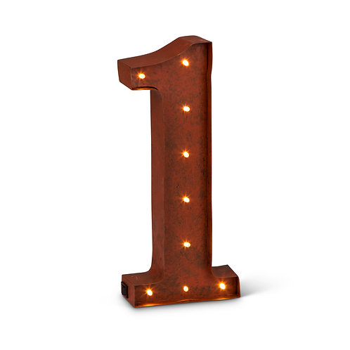 LED Lighted Numbers