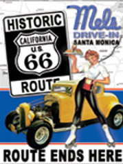 Mels Diner Route 66