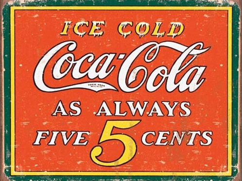 Coke-Always 5 Cents