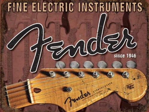 Fender Head Stock