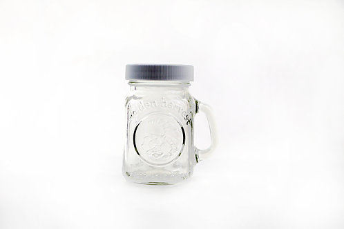 Mini Handled Mason Jar Shakers - 24 Piece Box
