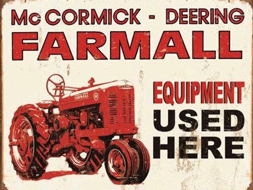 Farmall - Equipment Used Here