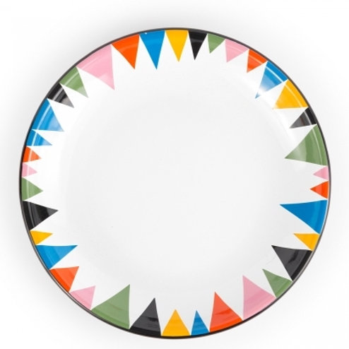 Triangle Lunch Plate