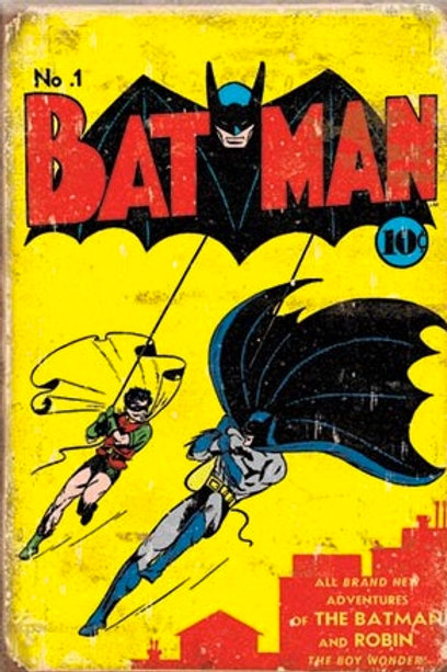 Batman No. 1 Cover