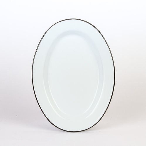 Oval Plate - 4 Pieces