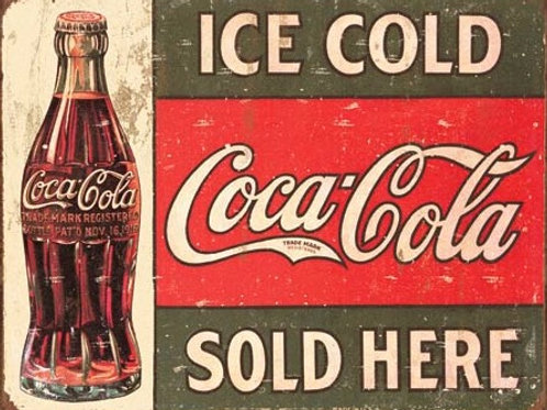 Ice Cold Coke Sold Here