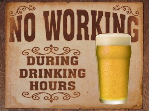 No Working Drinking Hours