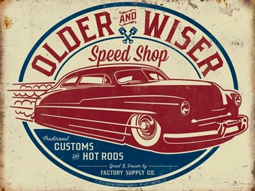 Older & Wiser - 50s Rod