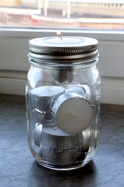 Jarware Mason Jar Tea Light