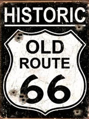 Old Route 66-Weathered