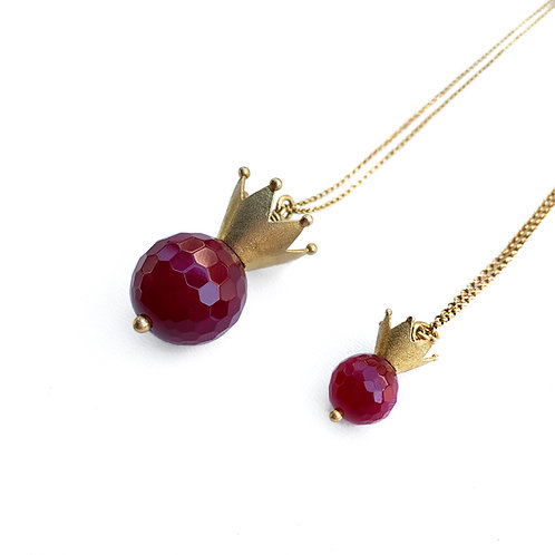 Pendant | Sterling Silver 925° with Red Agate