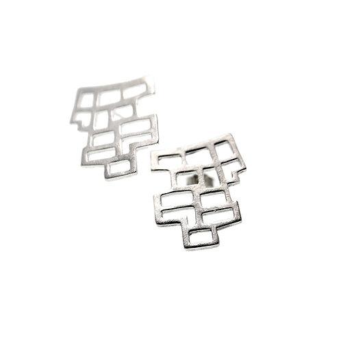 Σκουλαρίκια NoPAVE | Ασήμι 925°