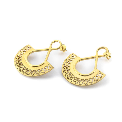 Hera Earrings | Gold Plated Sterling Silver 925°