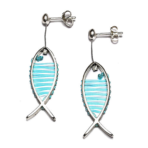 Sea Earrings | Solid Silver 925°