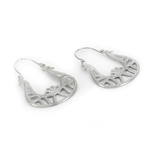 Diadem Earrings | Sterling Silver 925°