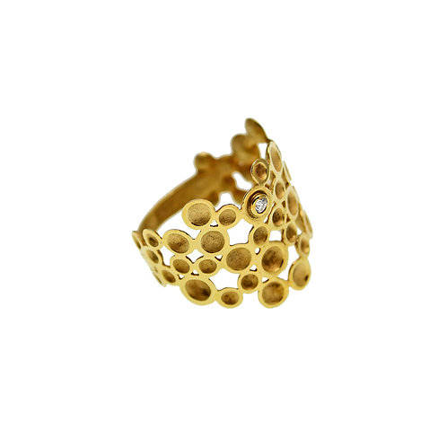 Grapevine Ring | Gold K14
