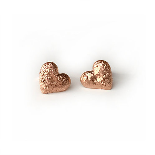 Valentine Rustic Earrings | Solid Silver 925°