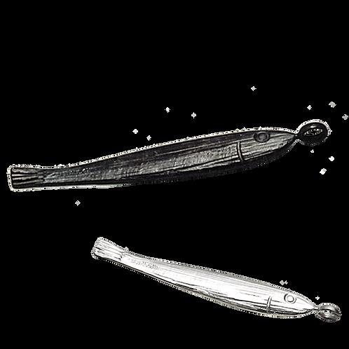 Κολιέ Solid fish 2 | Ασήμι 925°