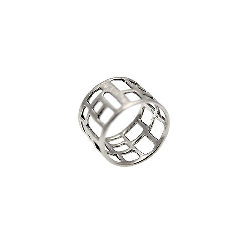 NoPAVE Ring | Sterling Silver 925°