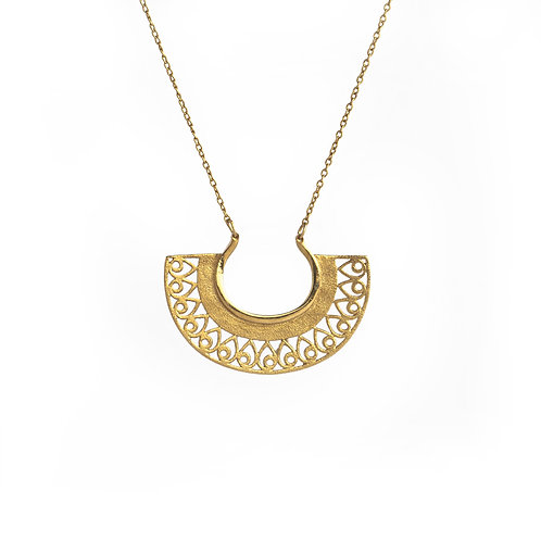 Hera Small Necklace | Gold Plated Sterling Silver 925°
