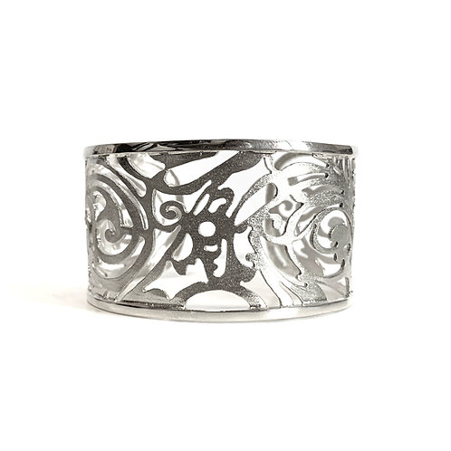 Open Bracelet Kentimata | Sterling Silver 925°