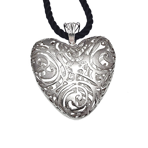 Heart Necklace Kentimata | Sterling Silver 925°