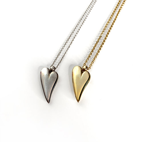 Solid Love Necklace | Solid Silver 925°