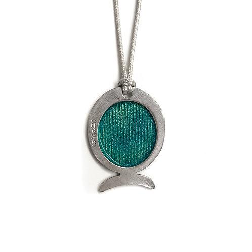 Sea Necklace | Solid Silver 925° with Enamel