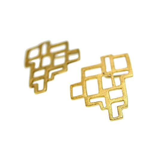 Σκουλαρίκια NoPAVE | Χρυσός K14